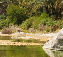 an awesome Oman landscape Sticker