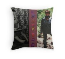 Private item Throw Pillow
