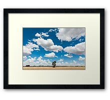 Outback Field Framed Print