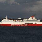 Spirit Of Tasmania by Martin Hampson