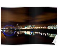 Glasgow Squinty Bridge Poster