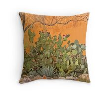 Prickly Pear Throw Pillow
