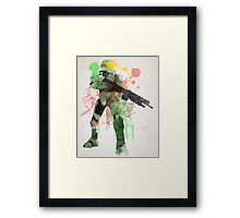 Master Chief, Halo Art Print Framed Print