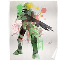 Master Chief, Halo Art Print Poster