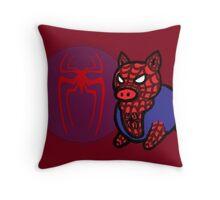 Spider Ham Throw Pillow