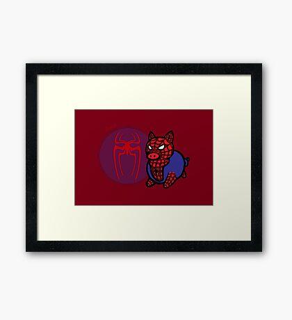 Spider Ham Framed Print