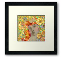 'Even The Angels Wept' An Epiphany Framed Print