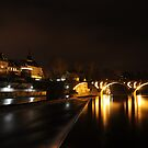 Bremgarten by night by Rosy Kueng