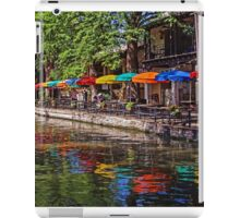 Riverwalk Reflections - San Antonio Texas USA iPad Case/Skin