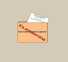 Military Intelligence Pun by AFormby