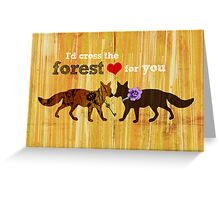 Foxtrot Love Potion Greeting Card