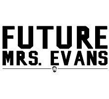 Future Mrs. Evans Photographic Print