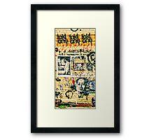 Valley Walk - Chairman Mao Framed Print