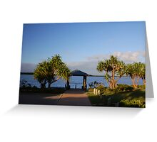Path to the Passage - Bribie Island Greeting Card