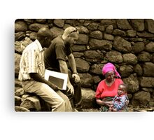 Aid Worker Canvas Print
