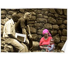 Aid Worker Poster