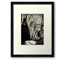 Ohhh Brother..We Almost There? Framed Print