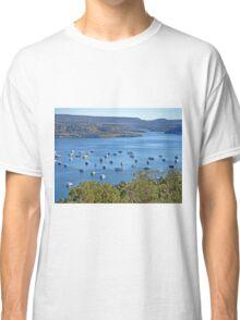 Houseboats on Navajo Lake, New Mexico, USA Classic T-Shirt