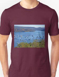 Houseboats on Navajo Lake, New Mexico, USA T-Shirt