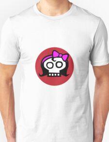 Get some girl power skull. Unisex T-Shirt