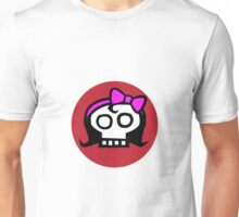 Get some girl power skull. Unisex T-Shirt