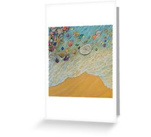 Serenity triptych. Part 2 Greeting Card