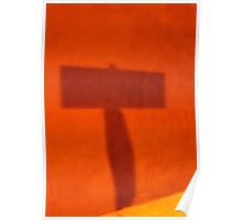 Orange T Poster