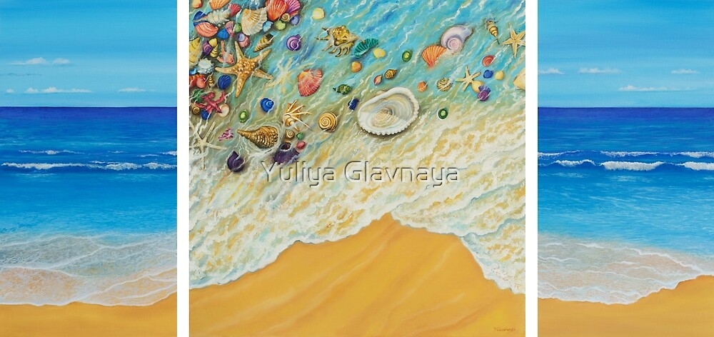 Serenity. Triptych by Yuliya Glavnaya