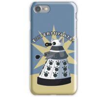 White Kitty Dalek iPhone Case/Skin
