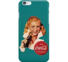Coca-Cola German Model #5 iPhone Case/Skin