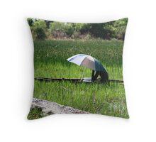 Okavango Delta, Botswana Throw Pillow