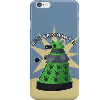 Green Kitty Dalek iPhone Case/Skin