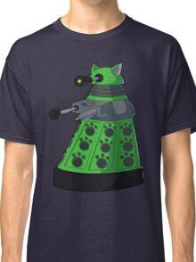 Green Kitty Dalek Classic T-Shirt