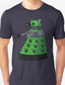 Green Kitty Dalek Unisex T-Shirt