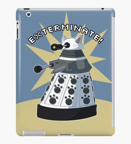 White Kitty Dalek iPad Case/Skin