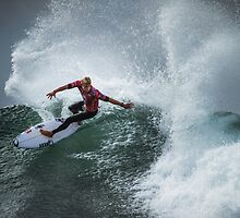 Mick Fanning ~ Bells Beach by Lisa  Kenny