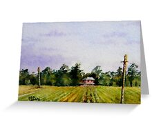 Miniature Series  ''April Vines'' Greeting Card