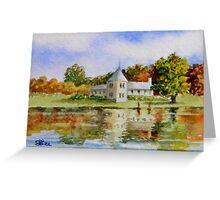Miniature Series  ''April Splendour'' Greeting Card