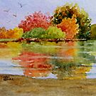 Miniature Series  ''Autumn Reflections'' by Fiona  Lee