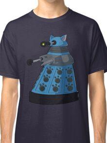 Blue Kitty Dalek Classic T-Shirt