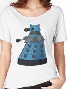 Blue Kitty Dalek Women's Relaxed Fit T-Shirt