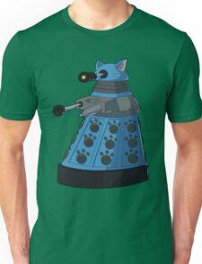 Blue Kitty Dalek Unisex T-Shirt