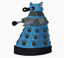 Blue Kitty Dalek Unisex T-Shirt