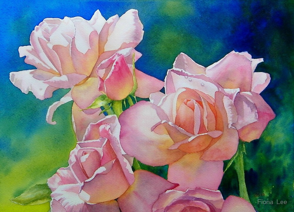 A Nod To The Bard (A Rose By Any Other Name...) by Fiona  Lee