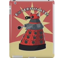 Red Dalek iPad Case/Skin