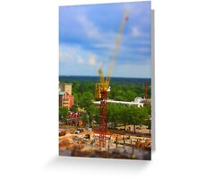 Micro Construction Greeting Card