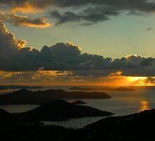 Sunrise From Bordeaux Mountain by Stephen Vecchiotti
