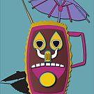TikiMask mug by Fpasallo