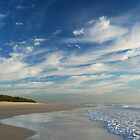 Paradise Found - Bribie Island by Barbara Burkhardt by Barbara Burkhardt