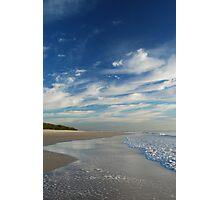 Beach Walk - Bribie Island Photographic Print